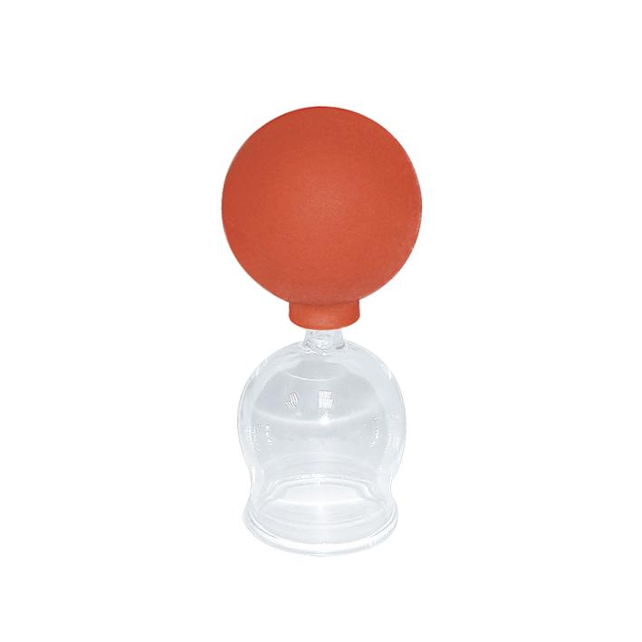 Schröpfkopf mit Olive und Ball, 3,5 cm Ø, mundgeblasen, CE