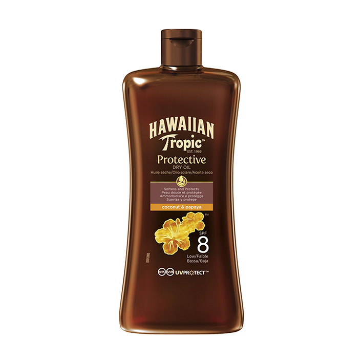 Hawaiian Tropic Dry Oil Mini 100 ml, LSF 8