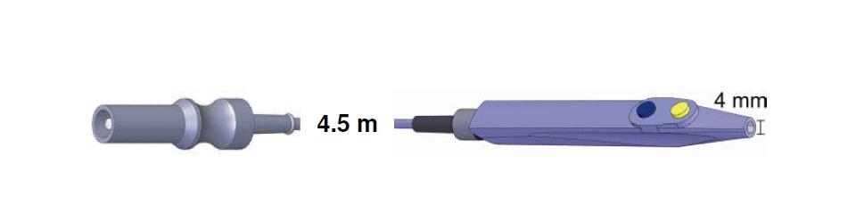 Handgriff Standard 103490, AES-BER-MAR, 4,5 mtr.