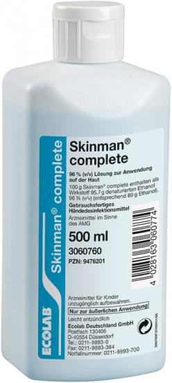 Skinman complete 500 ml, Händedesinfektion