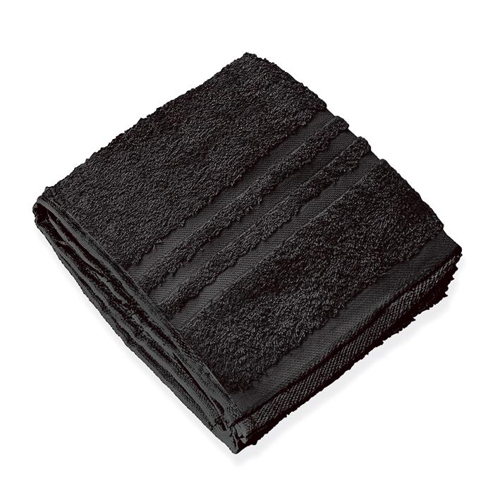 Saunatuch schwarz, 70 x 140 cm