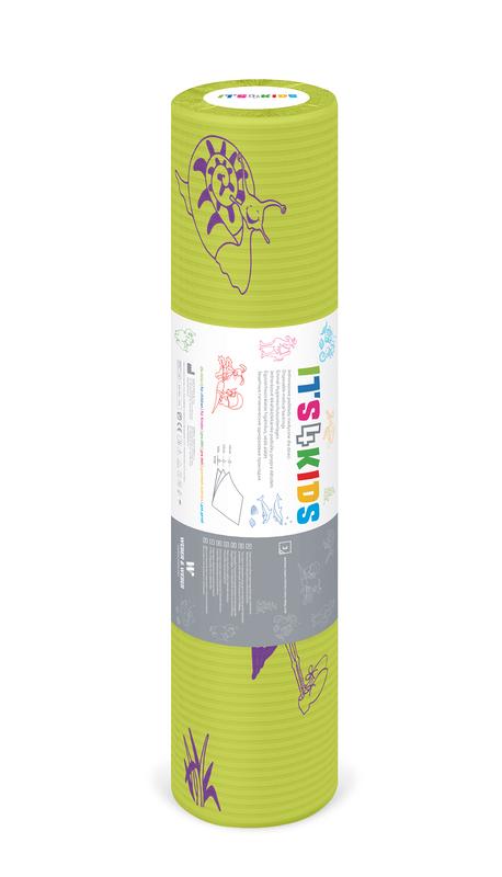 Ärztekrepp ITS4KIDS, 50cm x 40mtr., Limette, Tissue-PE, 6 Rollen