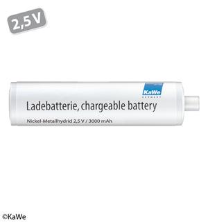 Ladebatterie (NiMH) 2,5 V mittel (C)
