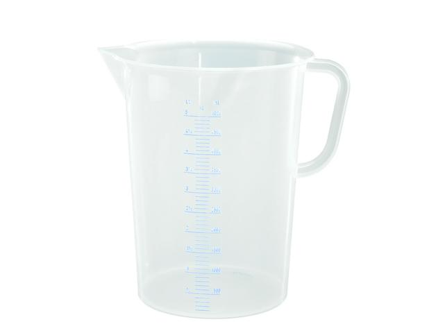 Messkanne 5000 ml, opak transparent