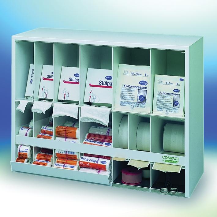 Verbandmittelspender COMPACT weiß