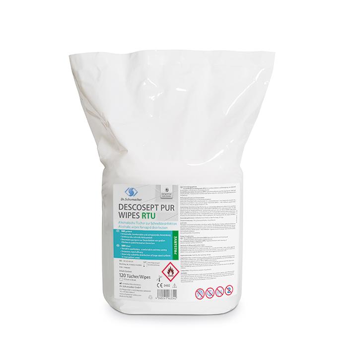 Descosept Pur Wipes RTU Schnelldesinfektionstücher (120 T.)