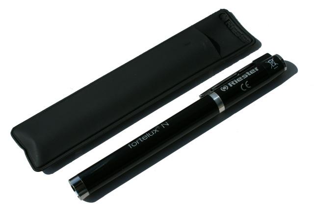 fortelux N Diagnostikleuchte, schwarz, LED 3 V inkl. 2 Batterien Typ AAA
