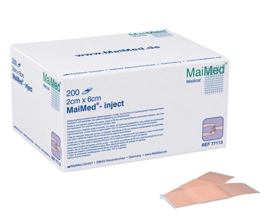 Injektionspflaster, 2cmx6cm, 200 St./Box