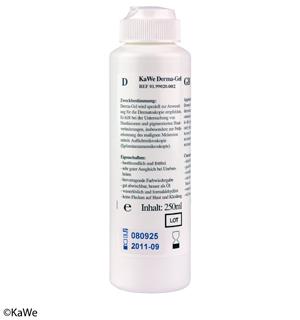KaWe Derma-Gel 250 ml, Dermatoskop-Gel (5 Stck.)