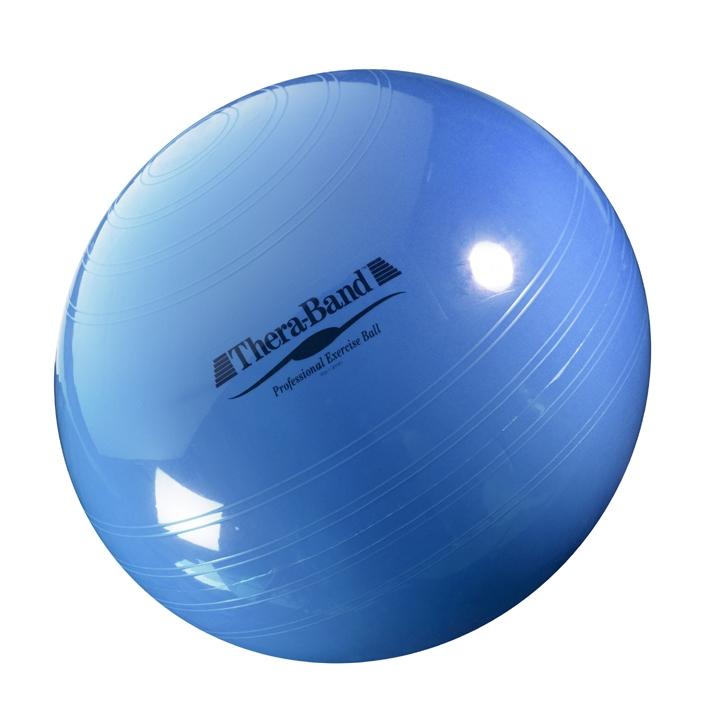 Thera-Band Gymnastik-Ball Ø 75 cm, blau, bis Körpergröße 200 cm