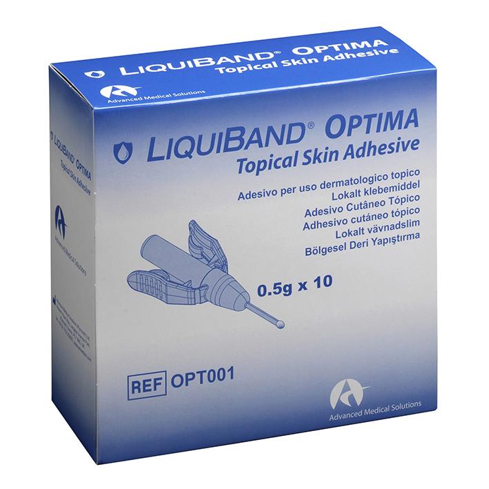 Liquiband OPTIMA Hautkleber, steril (10 Ampullen á 0,5 g)