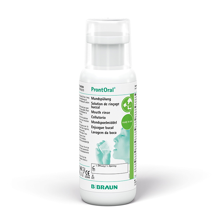 ProntOral Mundspülung 250 ml, Flasche mit Dosierkappe