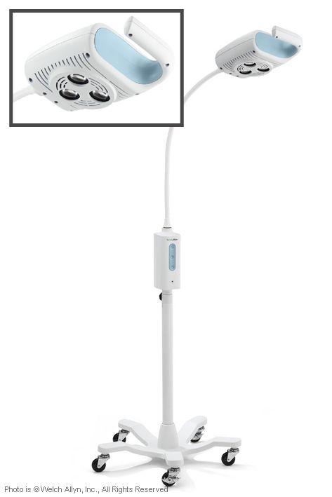 GS 600 LED-Untersuchungs- und, Behandlungsleuchte mit Rollstativ