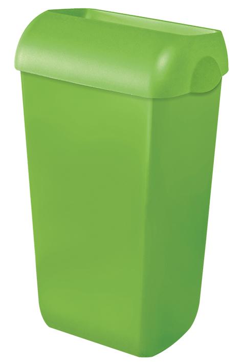 Abfalleimer Kunststoff grün 23 Ltr.