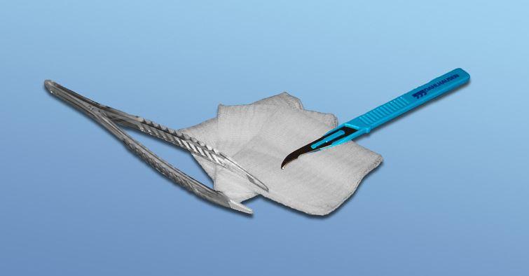 Fadenzieh-Set steril
