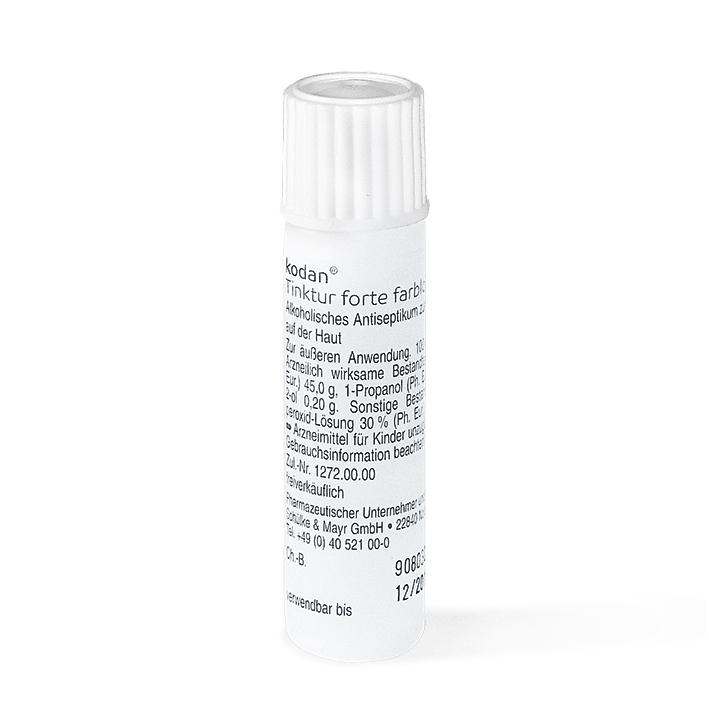 kodan Tinktur forte farblos 6 ml, Hautdesinfektion