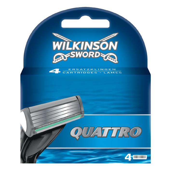 Ersatzklingen Typ 7094 für, Wilkinson Quattro (4 Stck.), #7007094P#
