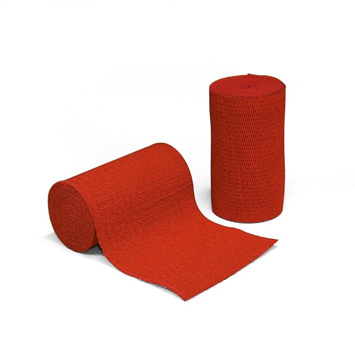 miro-ideal Idealbinden rot, 5 m x 8 cm (10 Stck.)