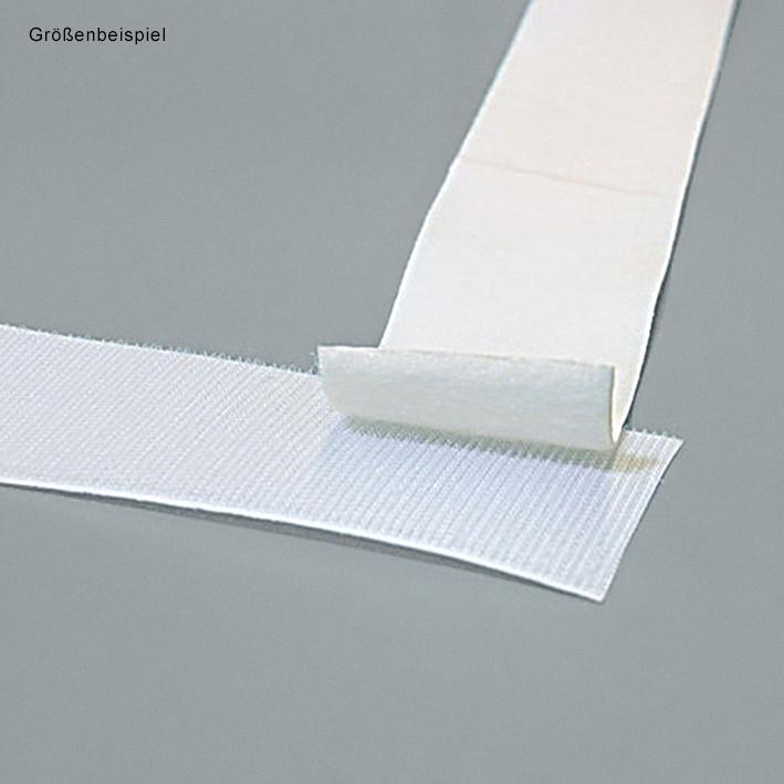 Klettband selbstklebend, 25 mm