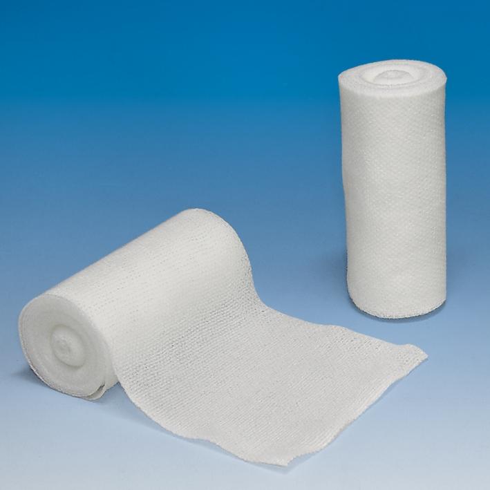 Mullbinden ratiomed, glatt, 4 m x 10 cm, weiß (20 Stck.)
