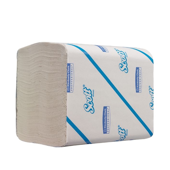 SCOTT 36 Toilet Tissue, 2-lagig, weiß, 11,7 x 18,6 cm (36 x 220 Bl.)