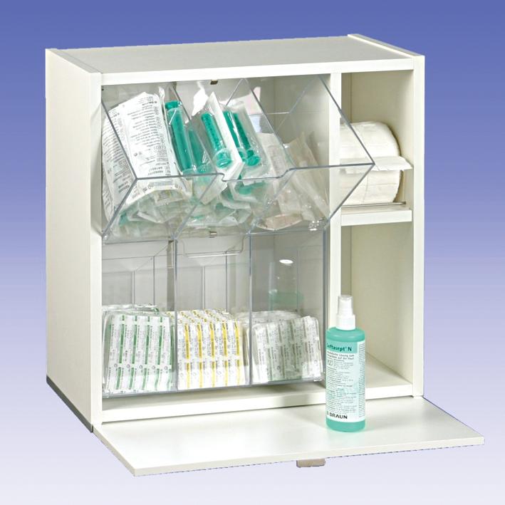 Injektionsmaterial-Spender antikweiß