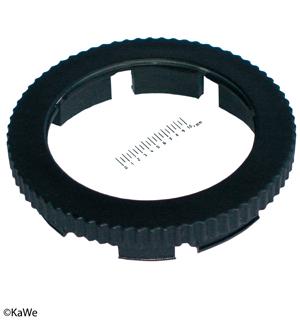 Kontaktscheibe Ø 25 mm passend zu, allen KaWe-Dermatoskopen