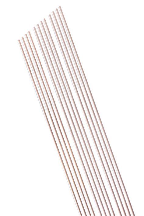 MEDIWOOD Watteträger Hartholz, ungespitzt 30 cm, Ø 3 mm (100 Stck.)