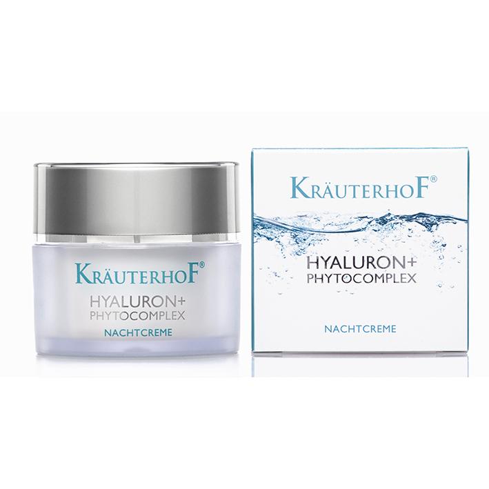 Kräuterhof Hyaluron+Phytokomplex Nachtcreme 50 ml
