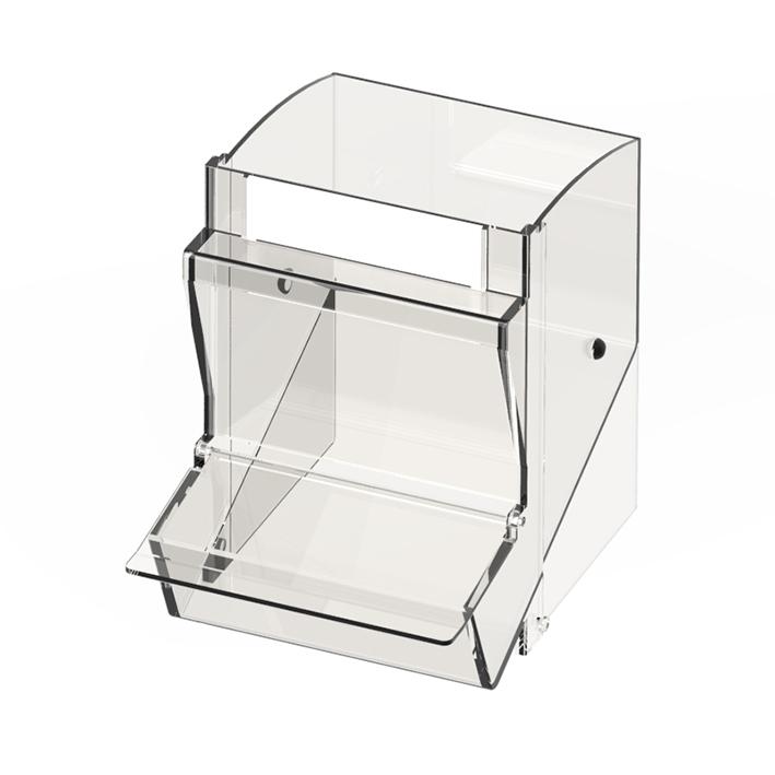 Einzelschütte klein, inkl. Staubschutzdeckel