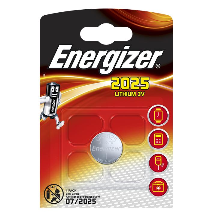 Energizer Batterie Typ CR2025, 3 V