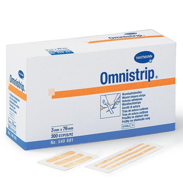 Omnistrip Wundnahtstreifen steril, 6 x 101 mm (500 Stck.)