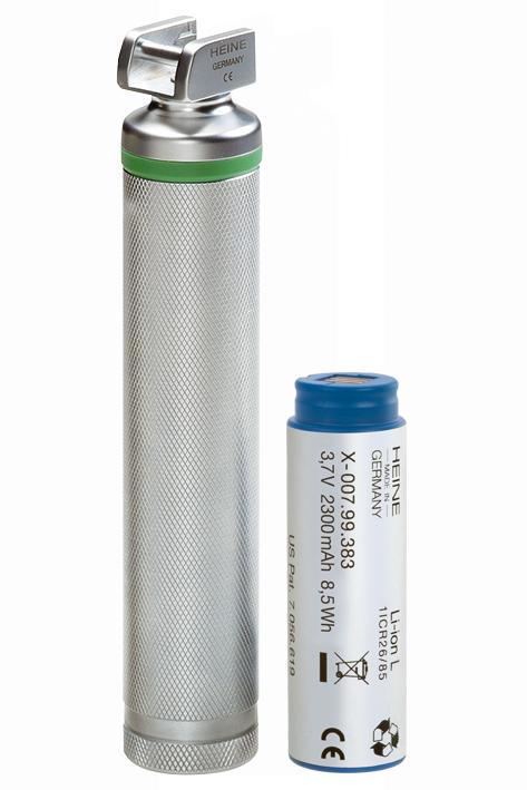 Standard F.O. LED Laryngoskopgriff 3,5 V, (Li-ion) komplett