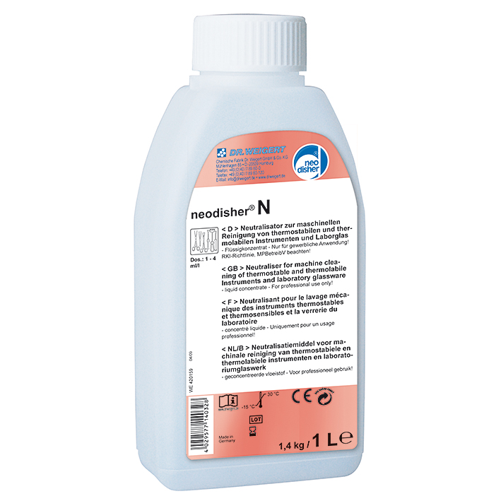 neodisher N 1 Ltr. saurer Reiniger + Neutralisator