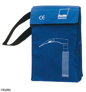 Notfall-Tasche, für max. 4 Spatel + 1 Griff, blau