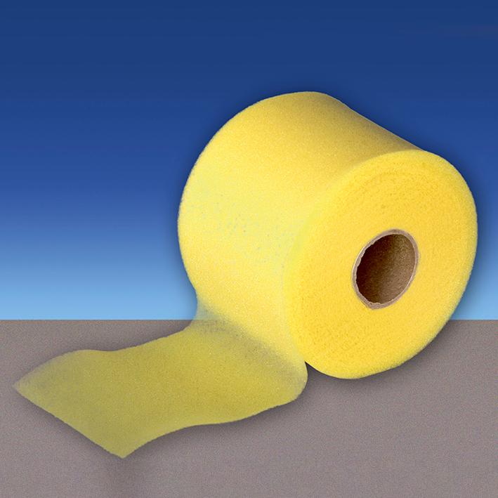 ELASTUS-pretape Tapebinden gelb, 27,5 m x 7 cm (10 Stck.)
