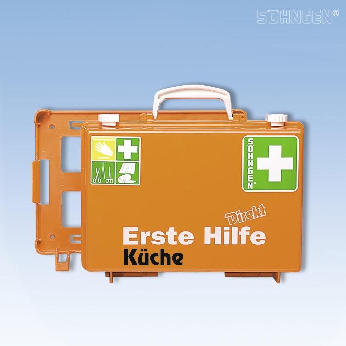 Erste-Hilfe Koffer DIREKT Küche
