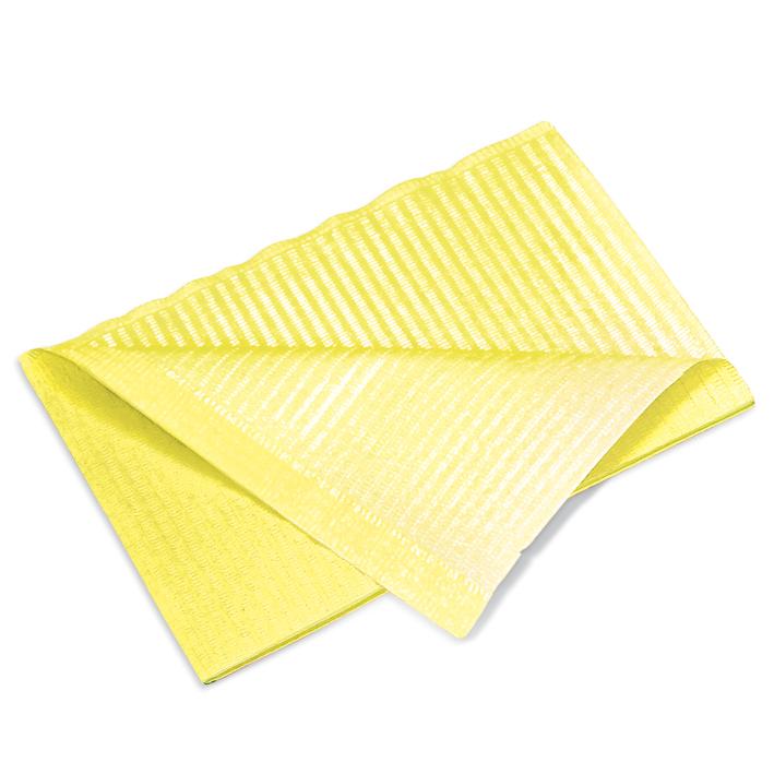 Patientenservietten, gelb, 33 x 45 cm, 2-lagig (500 Stck.)