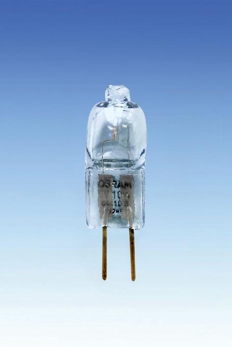 Halogenlampe ohne Reflektor zu Osram, 64410S, 6V/10 W, Sockel GX 4