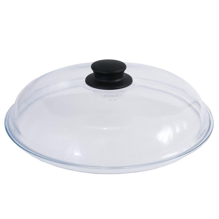 Pyrex-Glasdeckel, Ø 28 cm