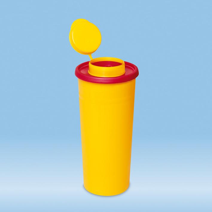 Kanülenabwurfbehälter 1,0 Ltr., Multi-Safe quick 1000
