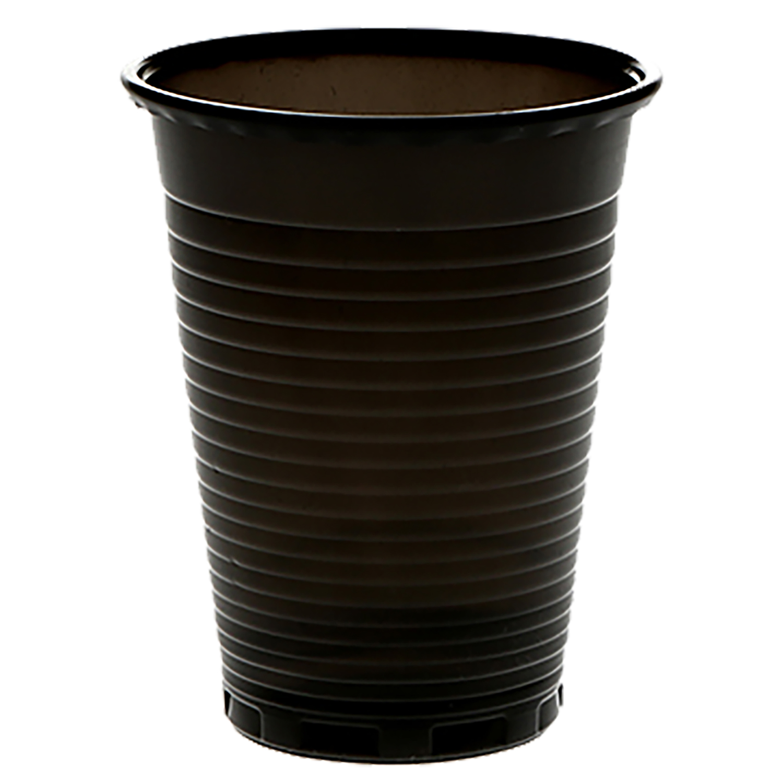Ausschankbecher/Universalbecher, schwarz, 200 ml (100 Stk.)
