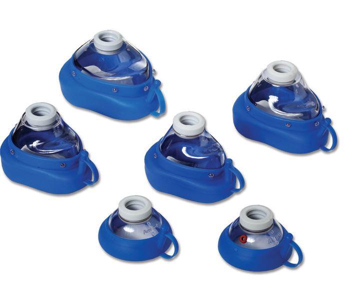 AMBU Silikon-Klarsichtmaske, Gr. 2 für Kinder