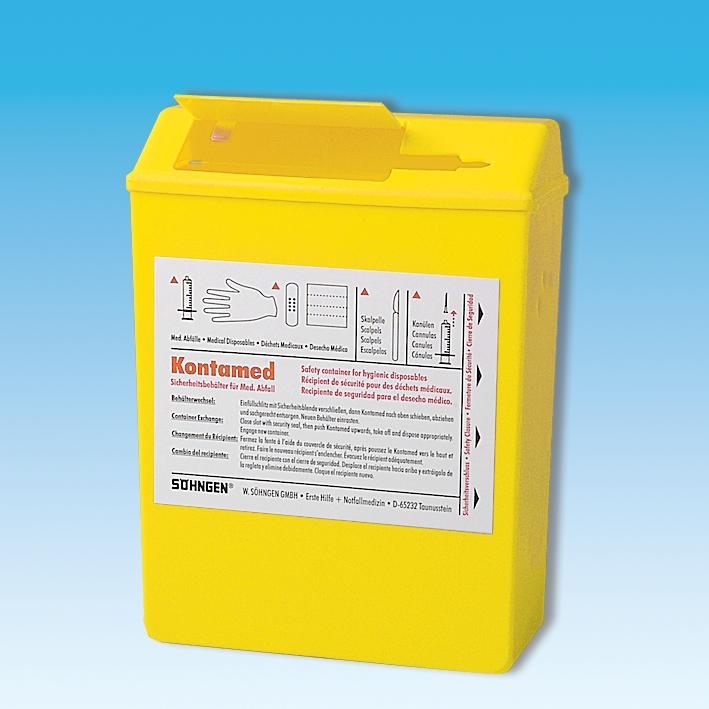 KONTAMED Sicherheitsbehälter, ca. 1,7 Ltr., ca. 225 x 160 x 70 mm