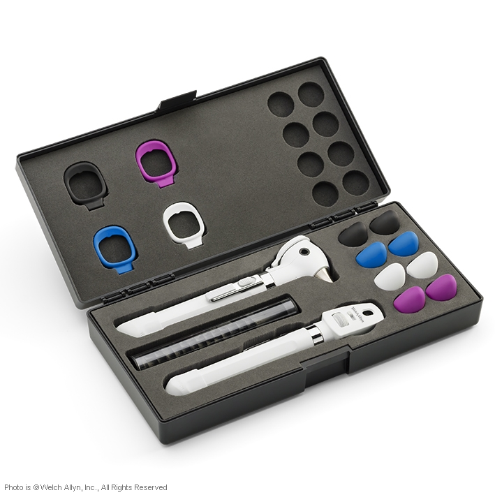 Pocket Plus LED Set perlweiß, mit Hartschalenetui