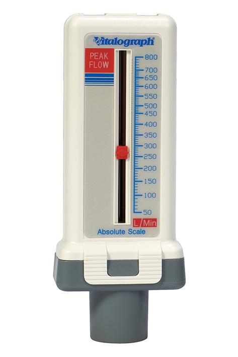 Peak Flow Meter Standard, für Erwachsene und Kinder