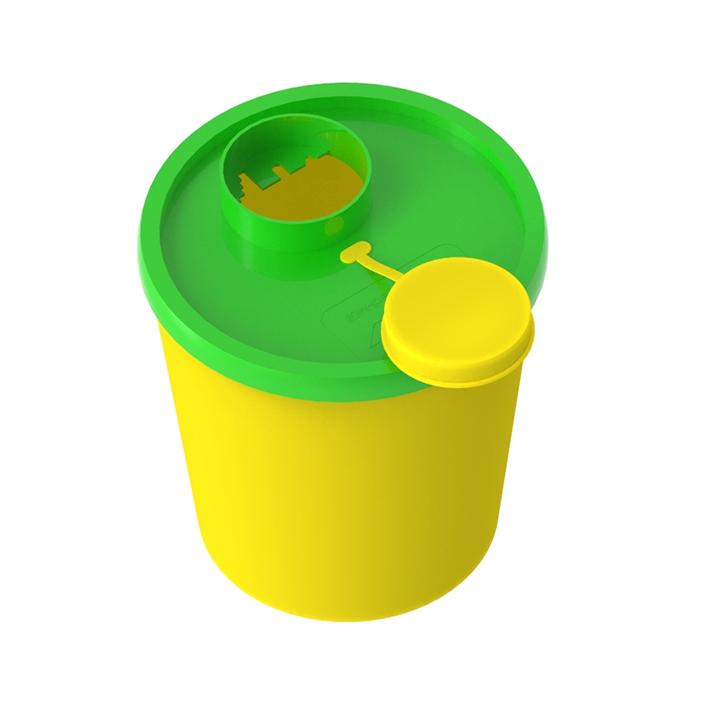 Entsorgungsboxen Medi-Müll 1,5 Ltr., ohne Halterung (100 Stck.)