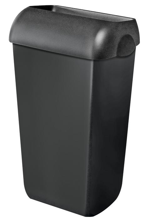 Abfalleimer Kunststoff schwarz 23 Ltr.