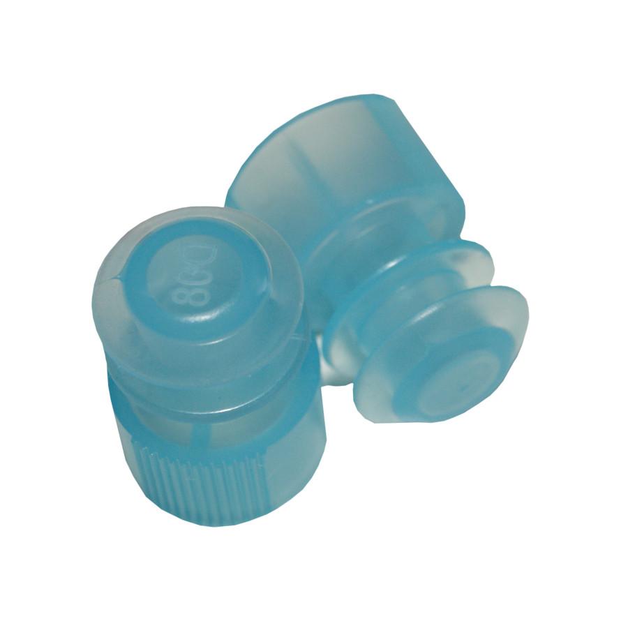 Lamellenstopfen ø12 mm blau, 2 große Dichtlamellen (1000 Stk.)
