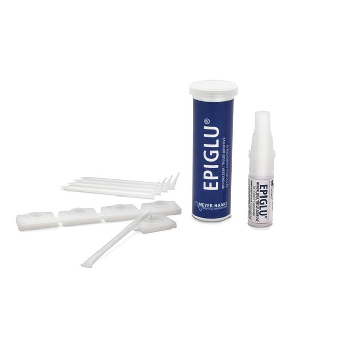 EPIGLU Wundkleber für 20 Anwendungen, (1 Phiole à 3g, 20 sterile Applik.-Sets)